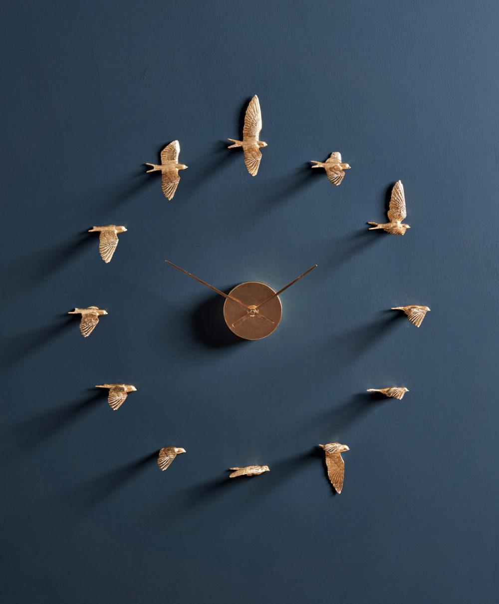 Luxury Wall clock bird