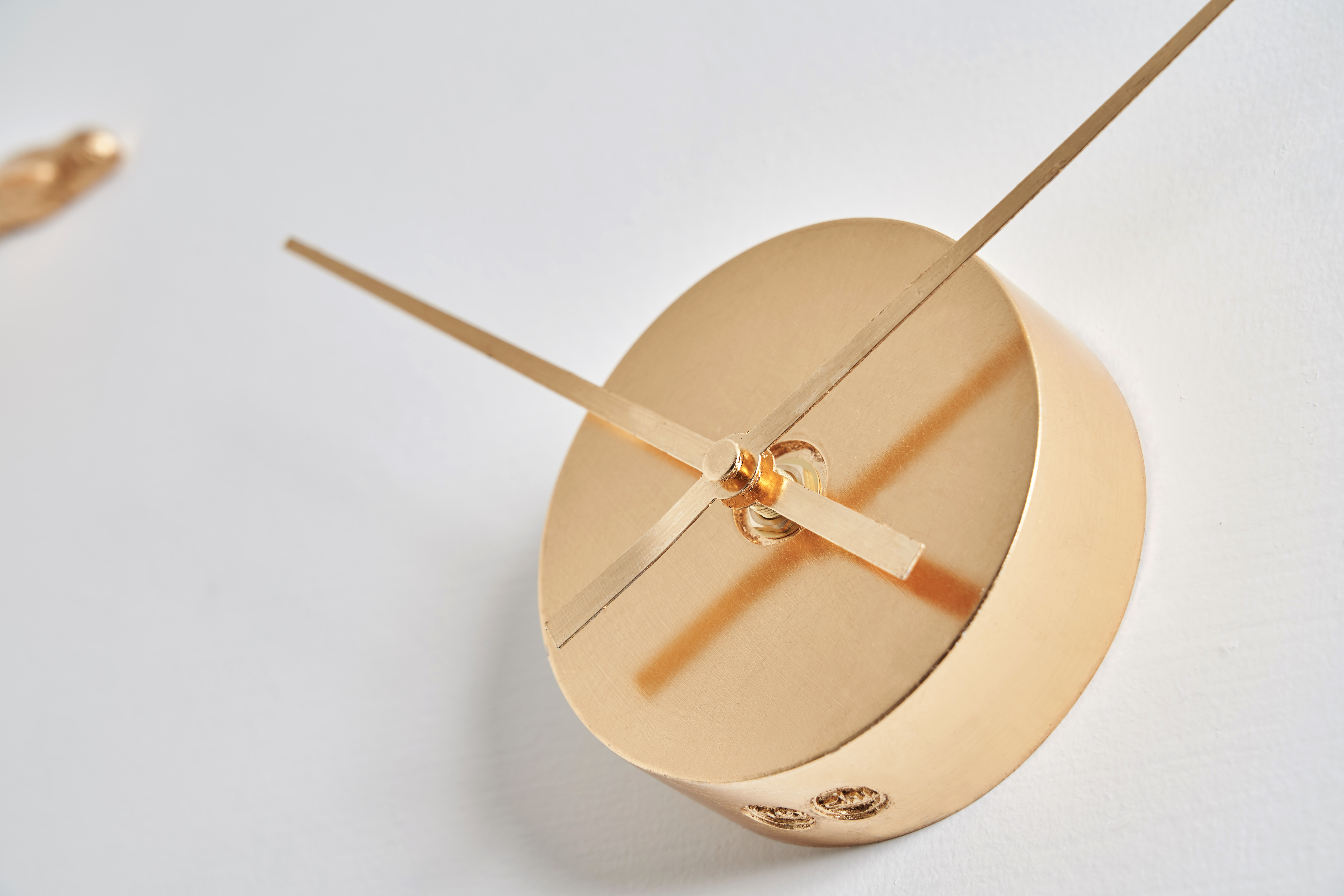 Gold Dial Wall Clocks
