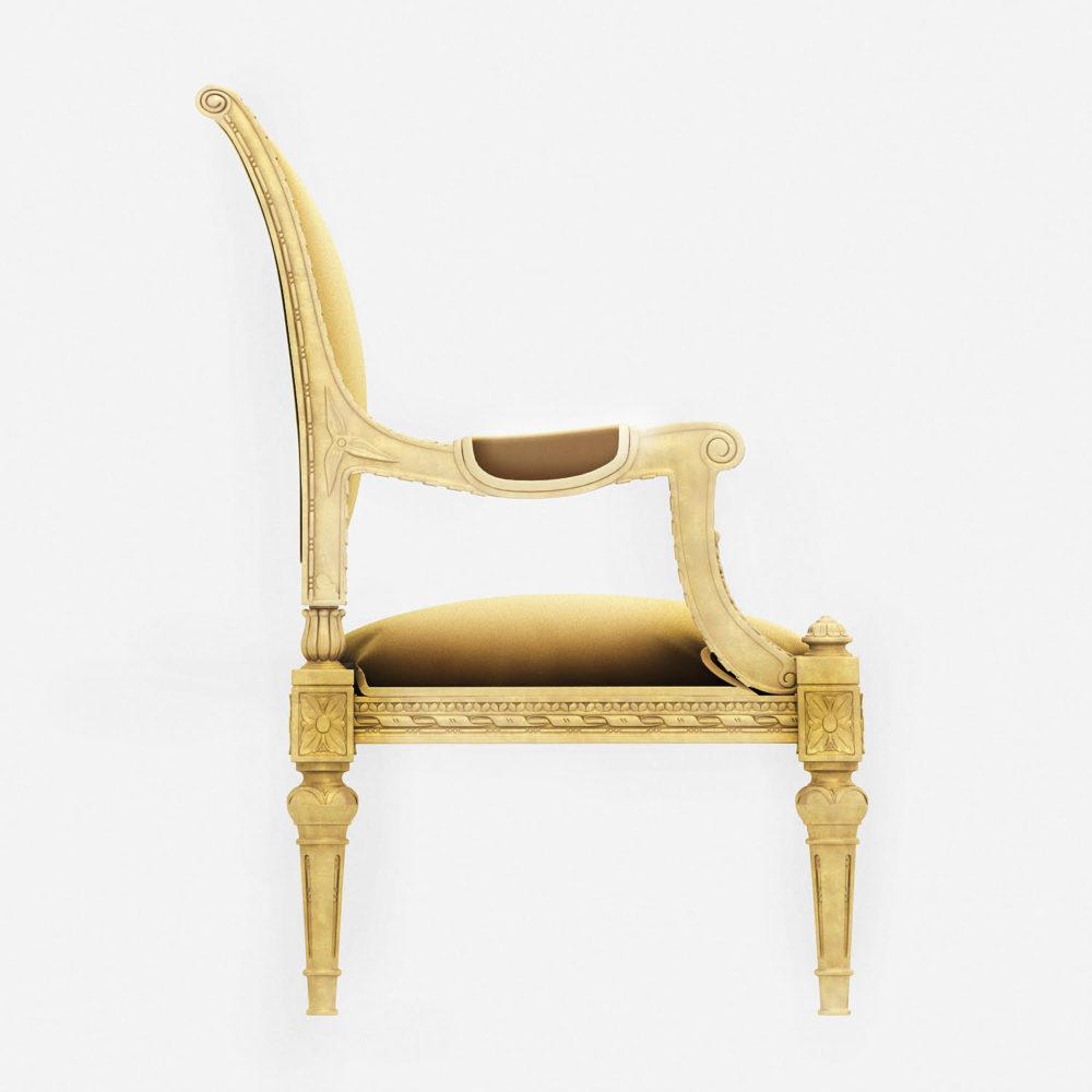 3D Design Sofa - Side