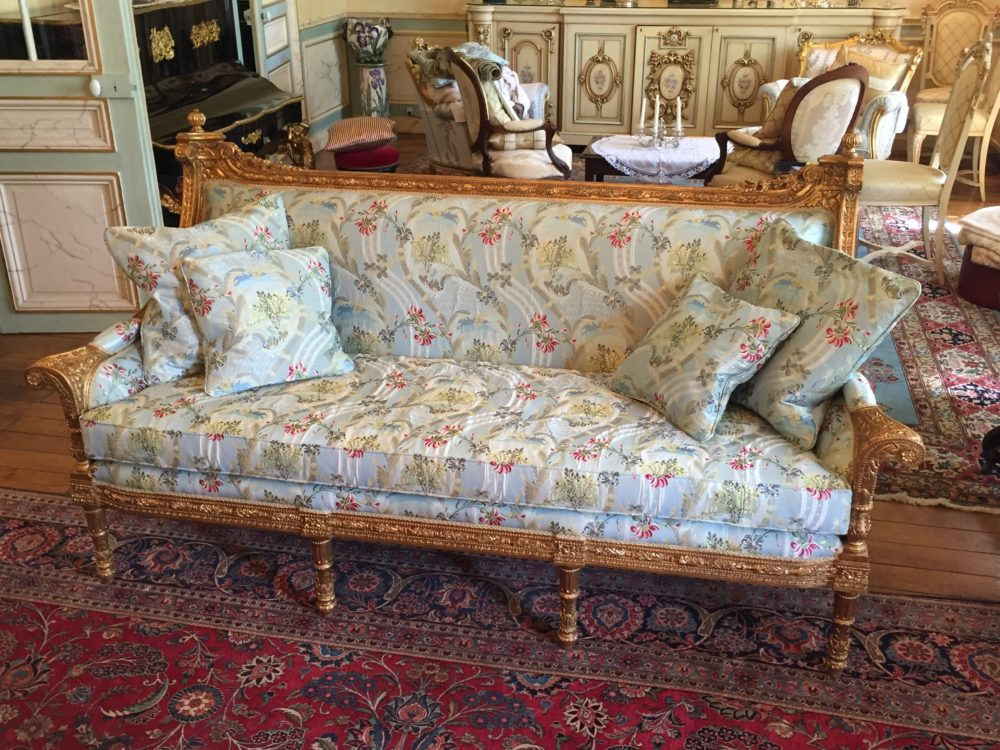Louis XV Inspired Sofa